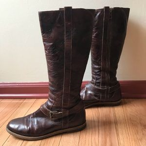 Cole Haan tall brown boots